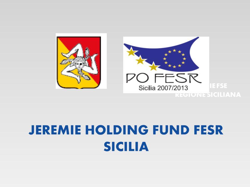 JEREMIE HOLDING FUND FESR SICILIA