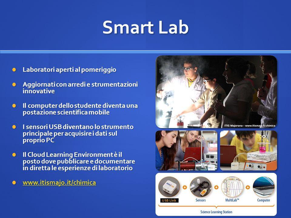 Smart Lab Laboratori aperti al pomeriggio