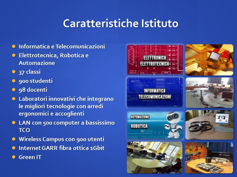 Caratteristiche Istituto
