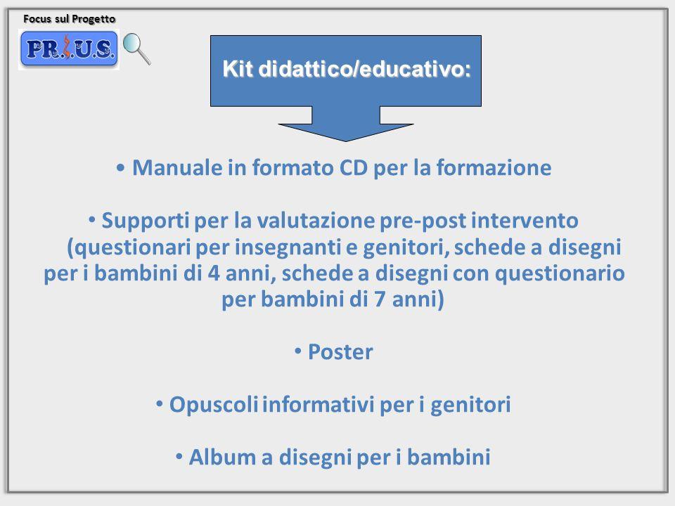 Manuale in formato CD per la formazione
