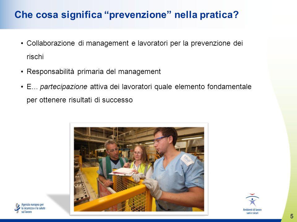 Che cosa significa prevenzione nella pratica