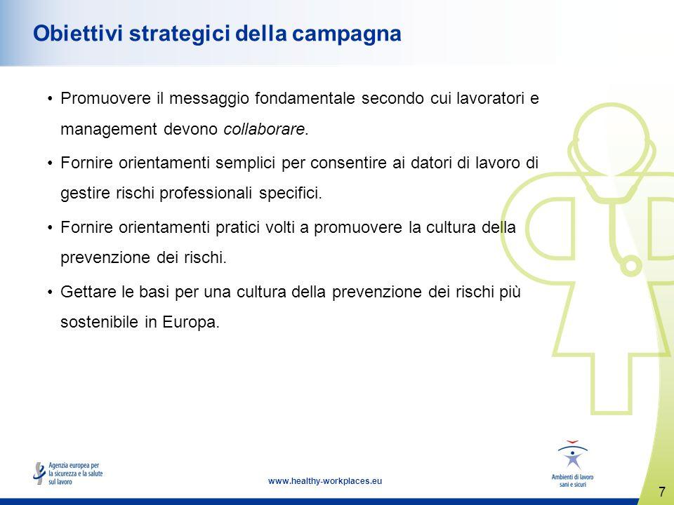 Obiettivi strategici della campagna