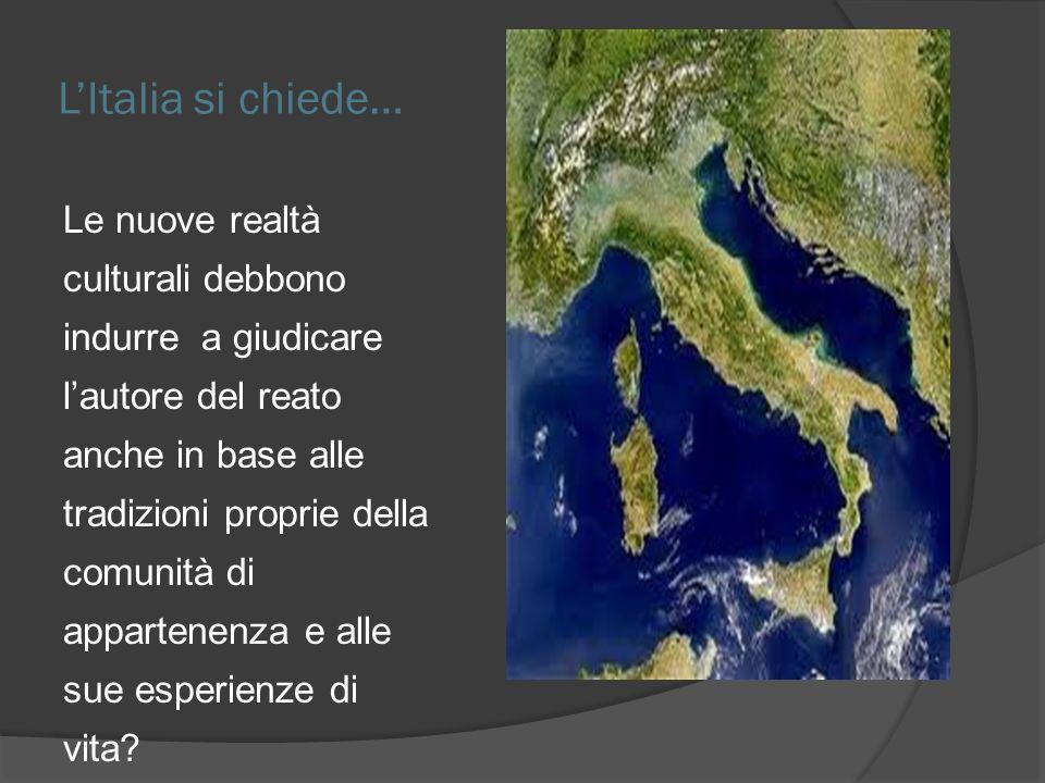 L'Italia si chiede…