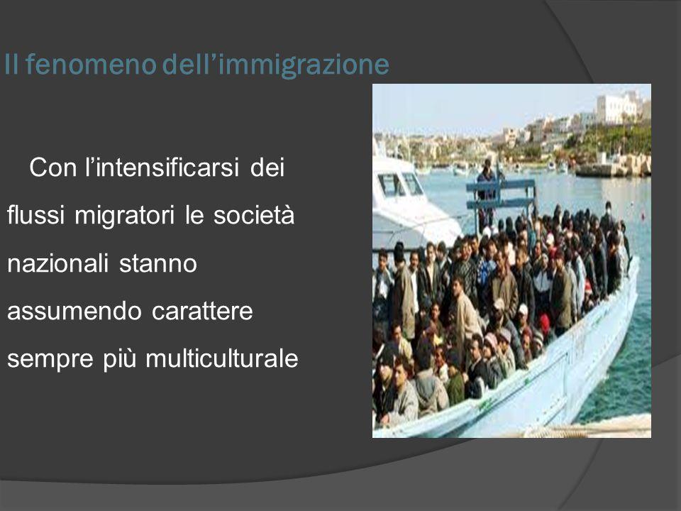 Il fenomeno dell'immigrazione