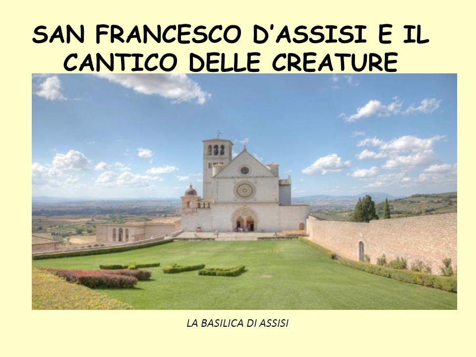 Estremamente SAN FRANCESCO D'ASSISI E IL CANTICO DELLE CREATURE - ppt scaricare PK12