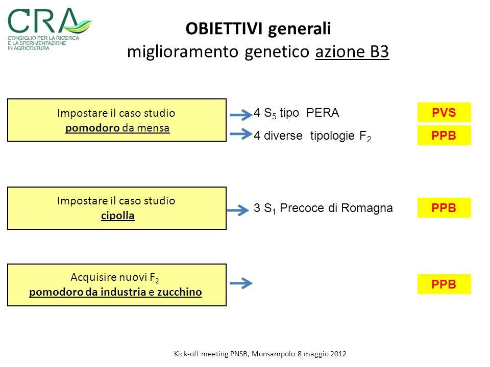 miglioramento genetico azione B3