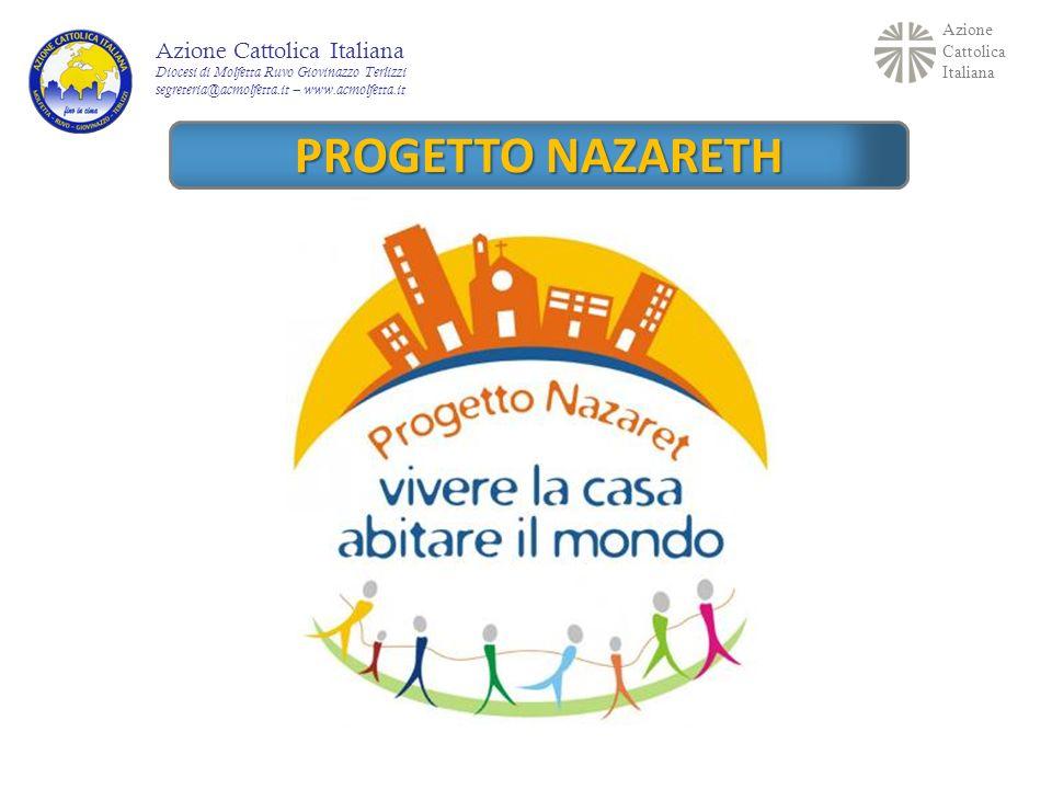 PROGETTO NAZARETH Azione Cattolica Italiana Percorso formativo