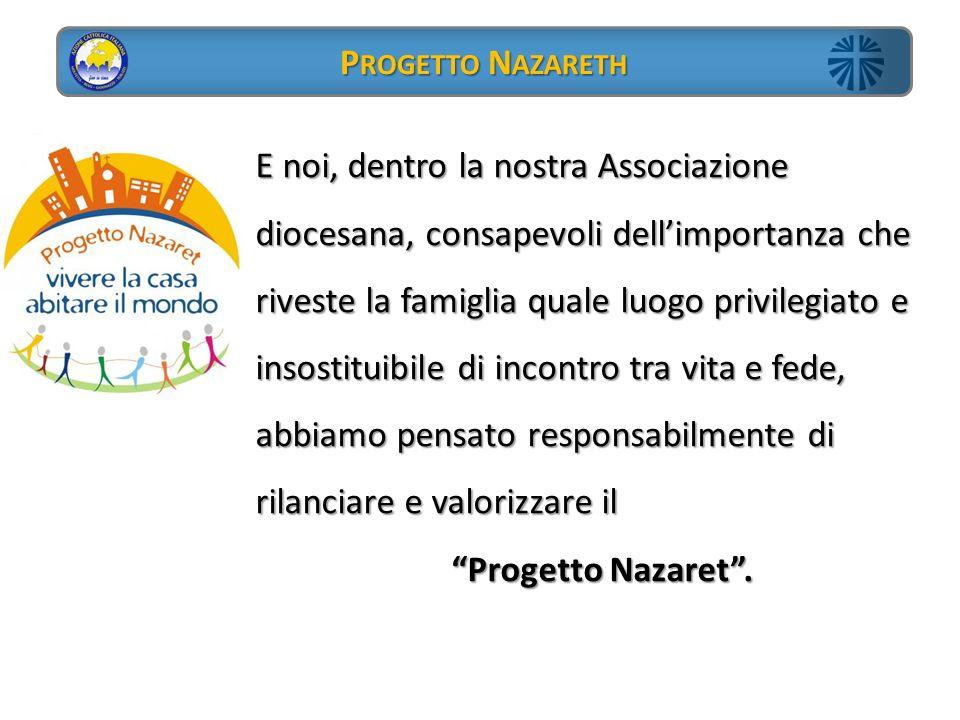 Progetto Nazareth Progetto Nazaret .