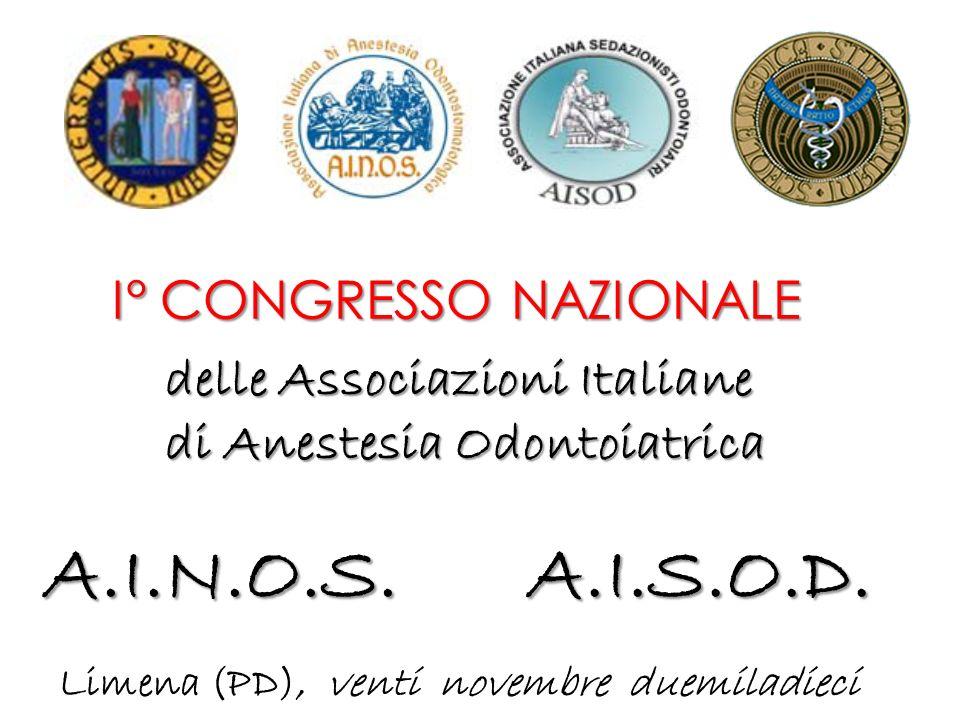 A.I.N.O.S. A.I.S.O.D. I° CONGRESSO NAZIONALE