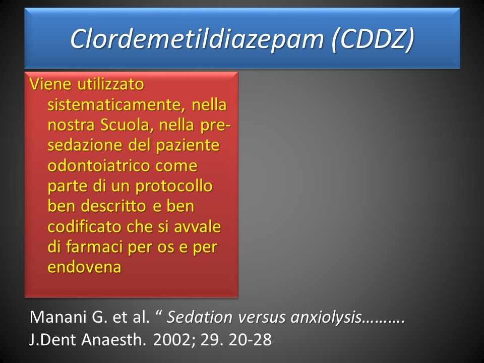 Clordemetildiazepam (CDDZ)