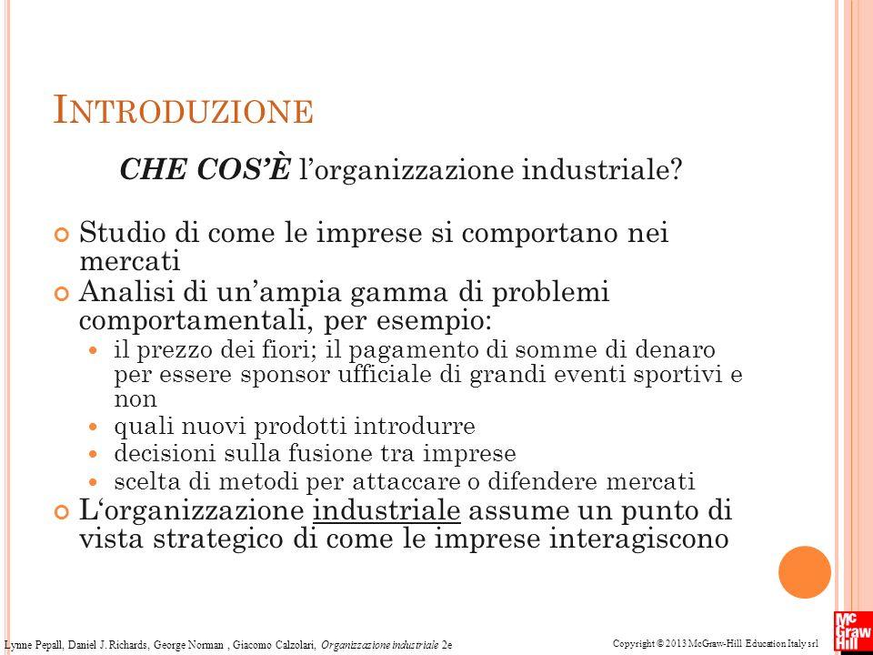 CHE COS'È l'organizzazione industriale