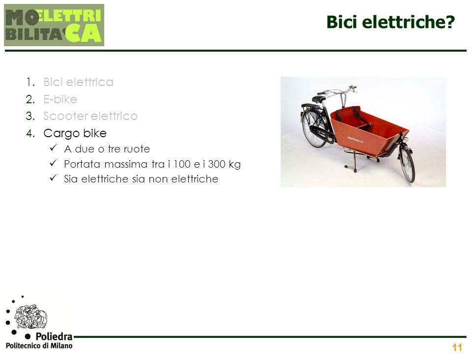 Bici elettriche Bici elettrica E-bike Scooter elettrico Cargo bike