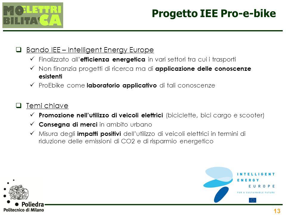 Progetto IEE Pro-e-bike