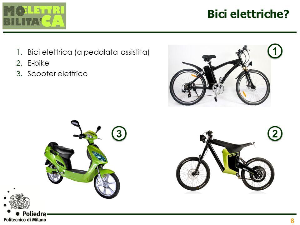 Bici elettriche 1 3 2 Bici elettrica (a pedalata assistita) E-bike