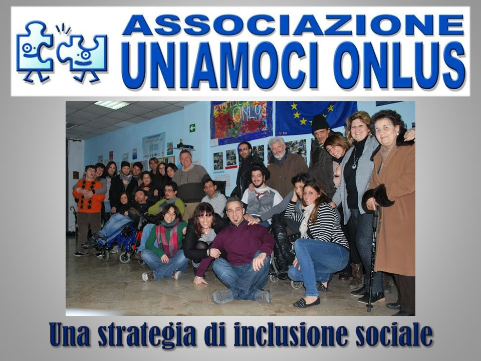 Una strategia di inclusione sociale