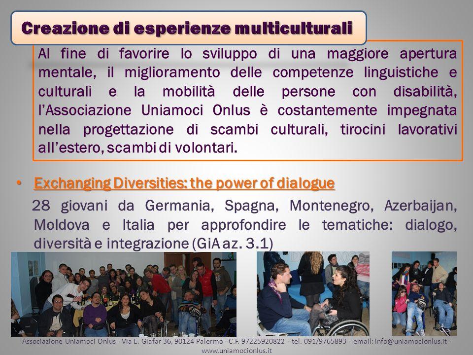 Creazione di esperienze multiculturali