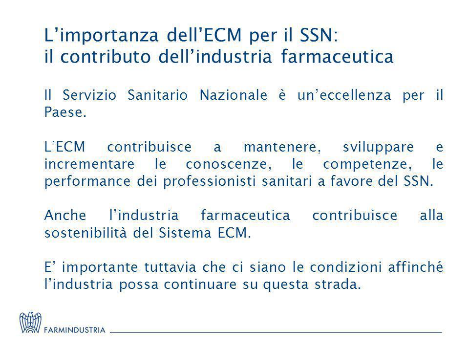 L'importanza dell'ECM per il SSN: