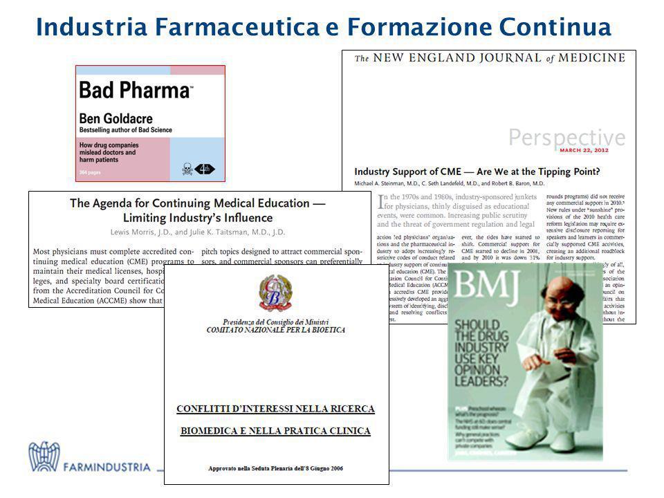 Industria Farmaceutica e Formazione Continua