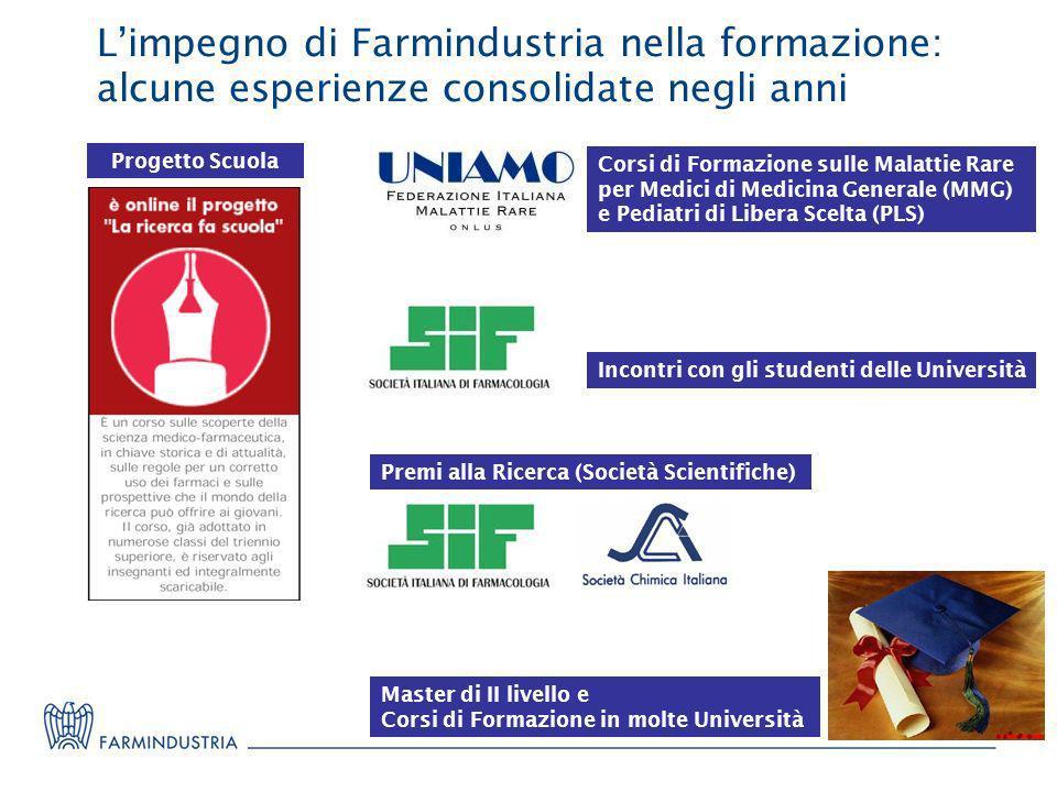 L'impegno di Farmindustria nella formazione: