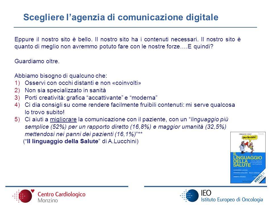 Scegliere l'agenzia di comunicazione digitale