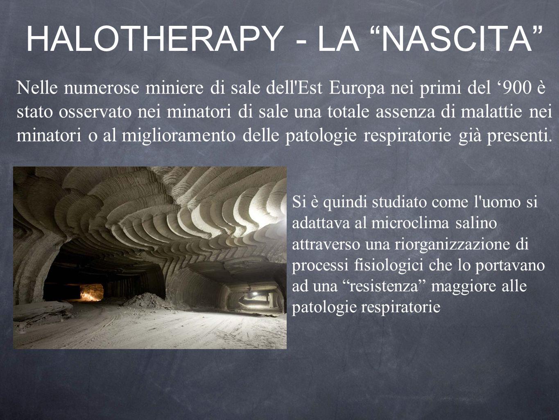 HALOTHERAPY - LA NASCITA