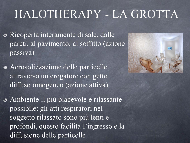 HALOTHERAPY - LA GROTTA