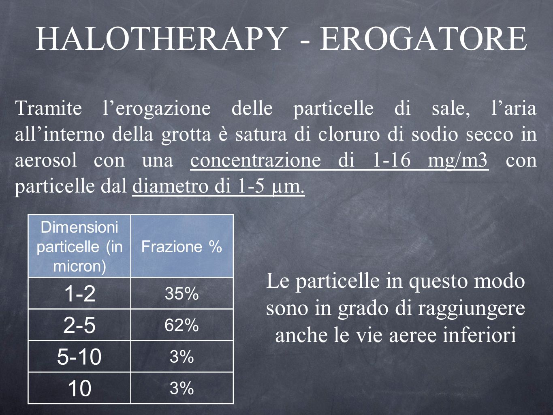 HALOTHERAPY - EROGATORE