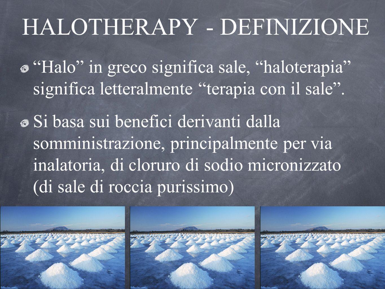 HALOTHERAPY - DEFINIZIONE