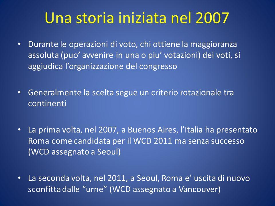 Una storia iniziata nel 2007