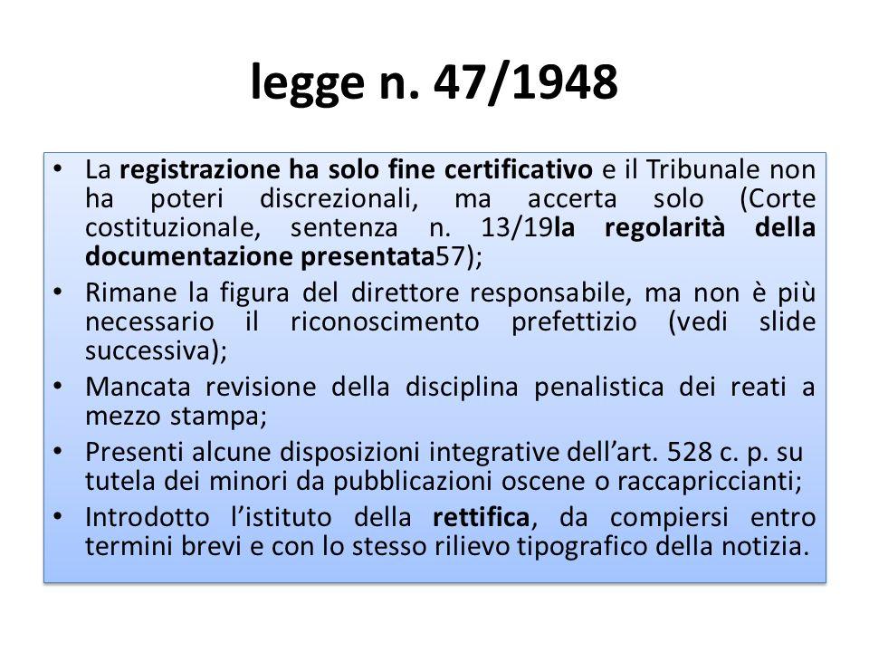 legge n. 47/1948