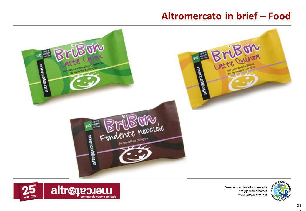 Altromercato in brief – Food