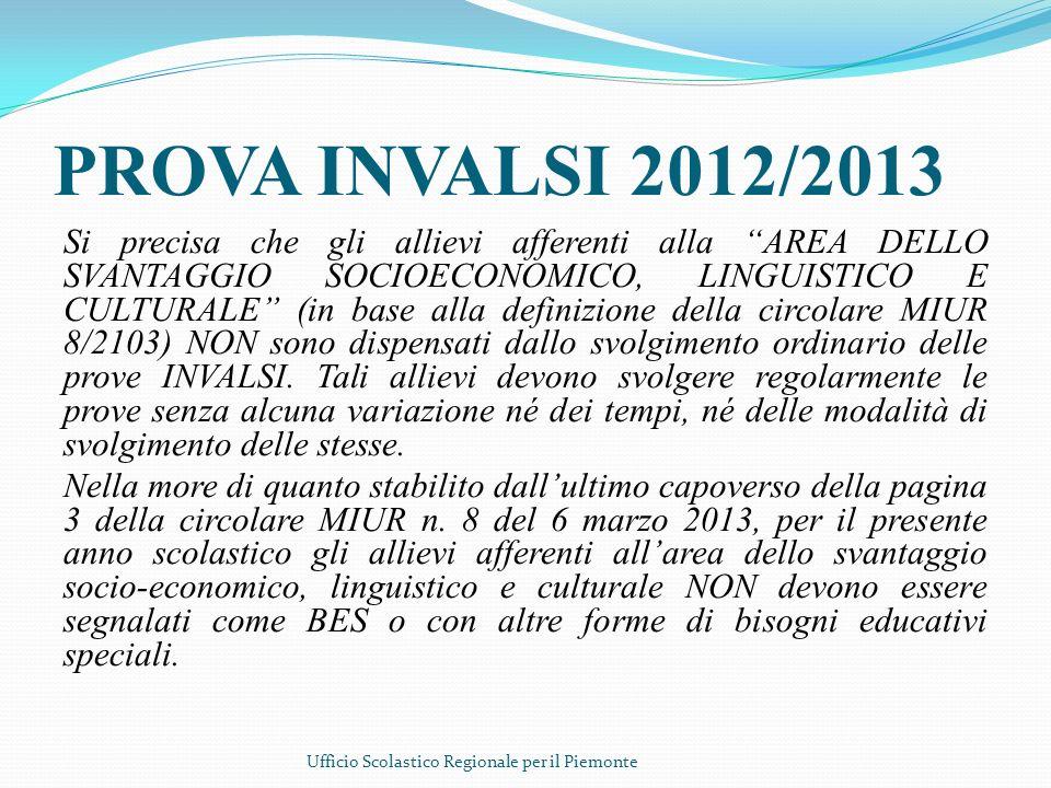PROVA INVALSI 2012/2013