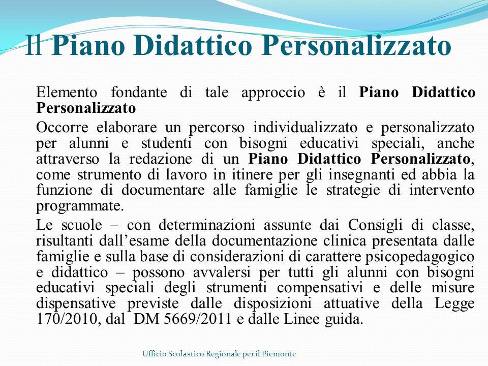 Il Piano Didattico Personalizzato