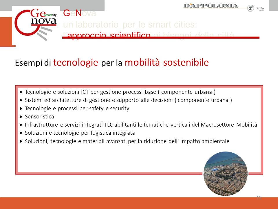 GeNova un laboratorio per le smart cities: