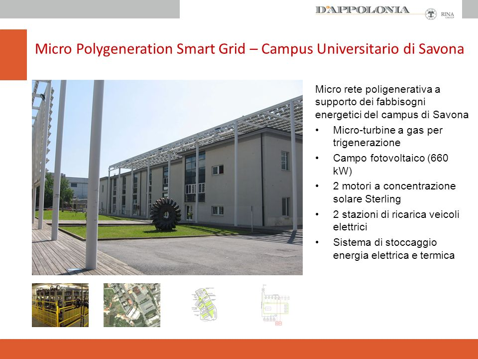 Micro Polygeneration Smart Grid – Campus Universitario di Savona