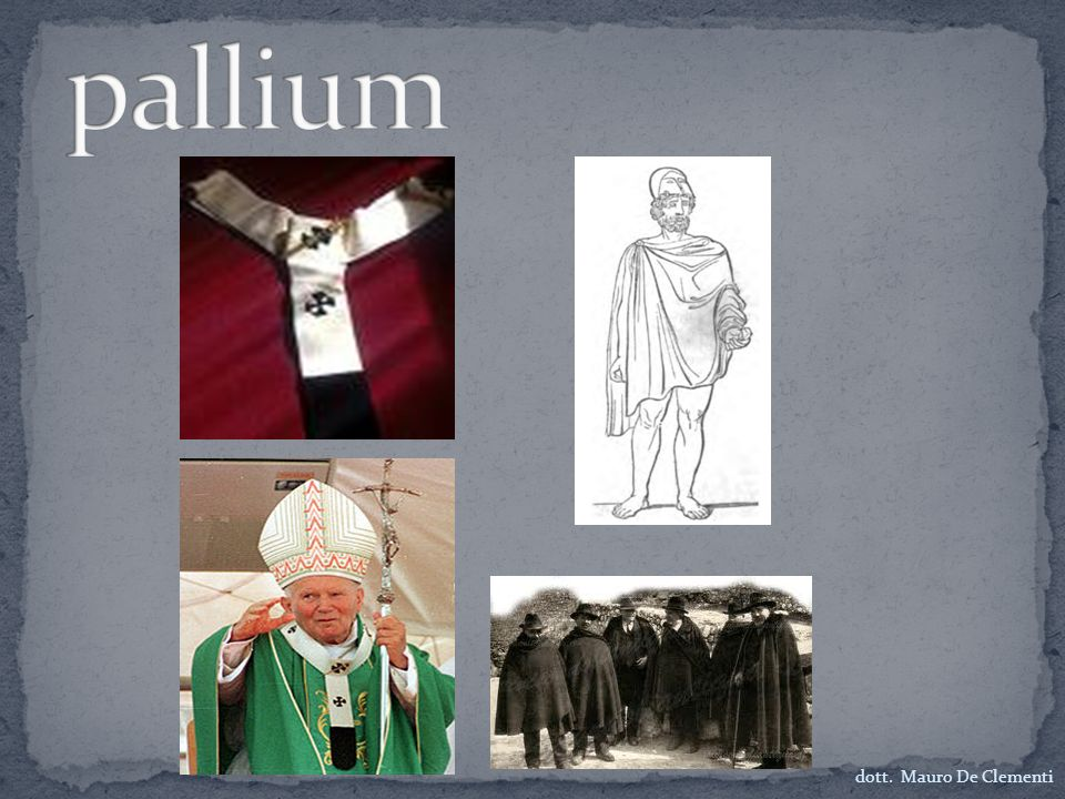 pallium dott. Mauro De Clementi