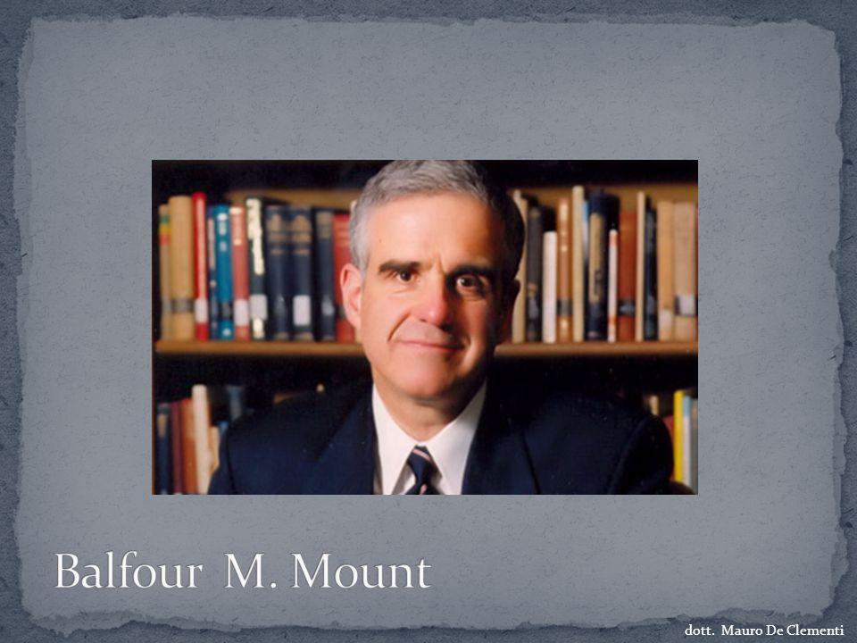 Balfour M. Mount dott. Mauro De Clementi