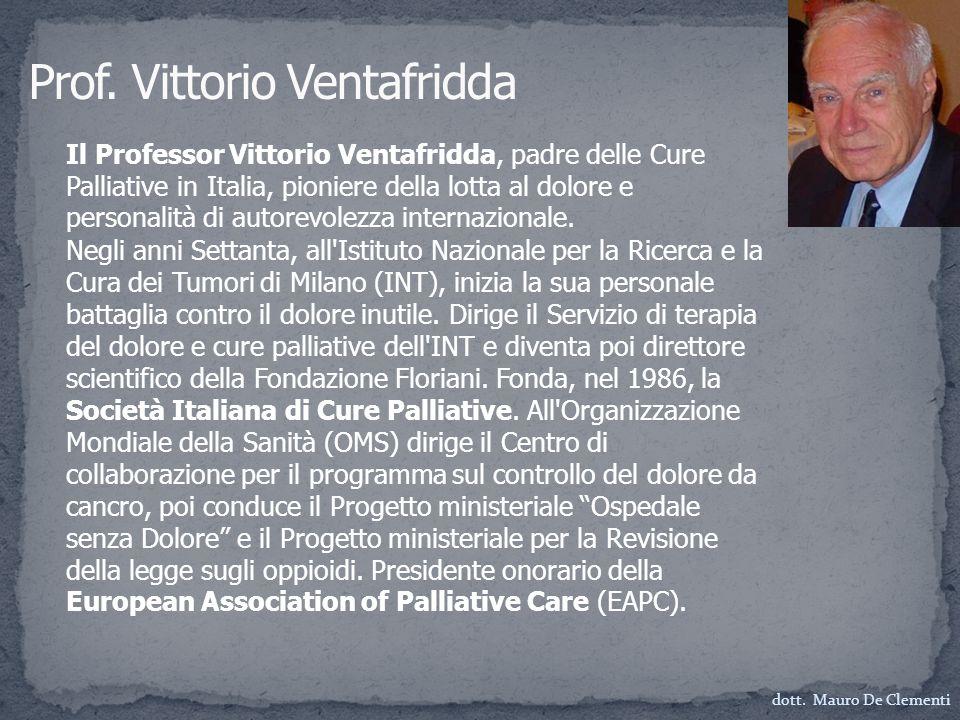 Prof. Vittorio Ventafridda