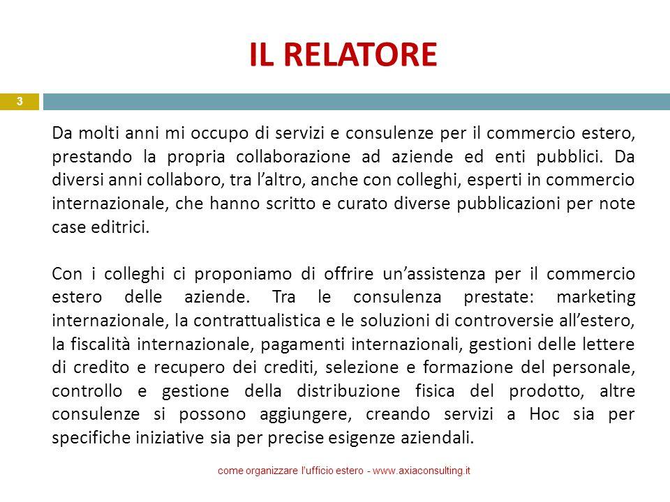 come organizzare l ufficio estero - www.axiaconsulting.it