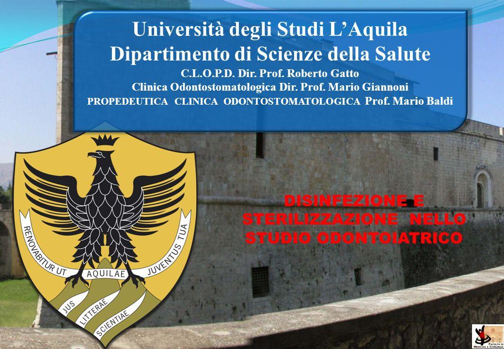 Università degli Studi L'Aquila Dipartimento di Scienze della Salute
