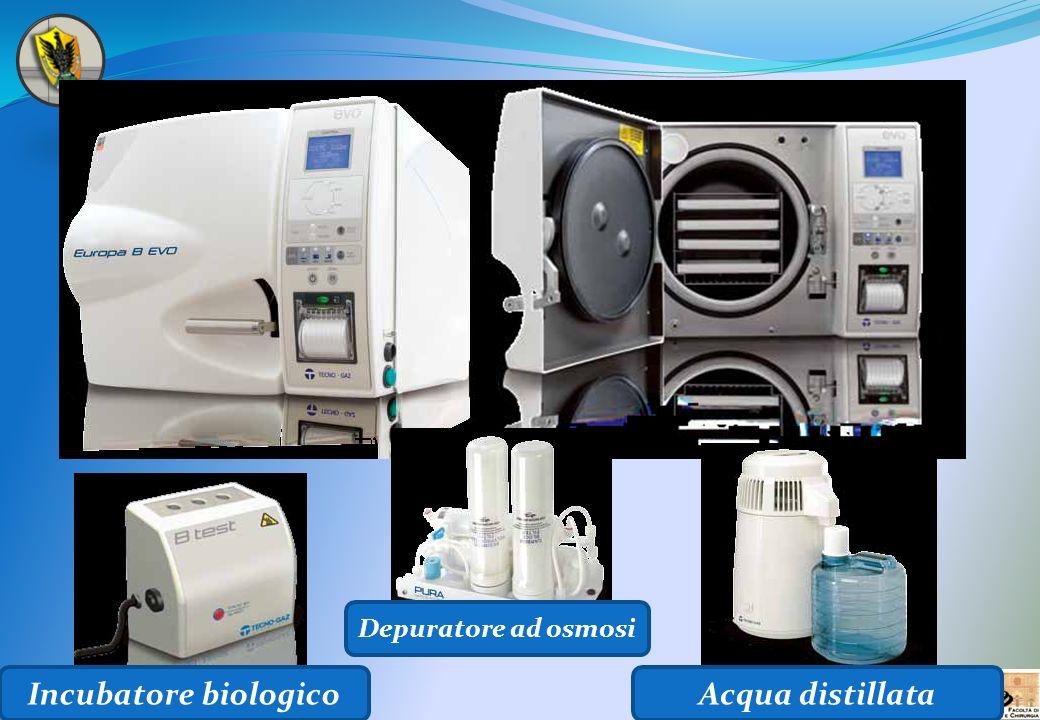 Incubatore biologico Acqua distillata