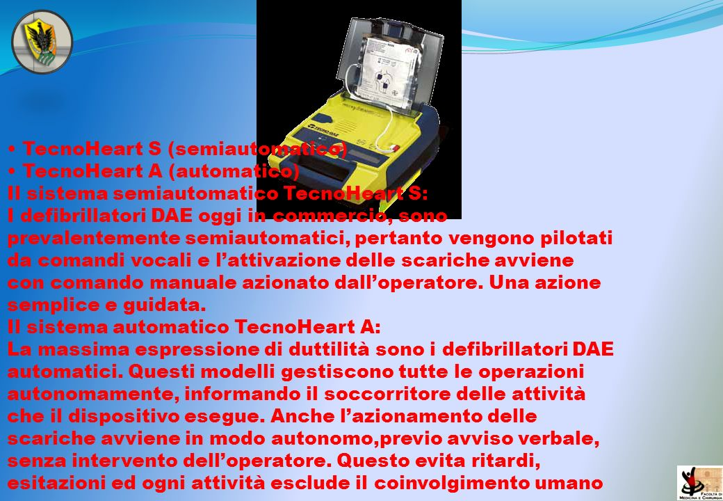 • TecnoHeart S (semiautomatico)