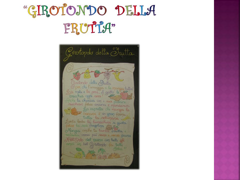 GIROTONDO DELLA FRUTTA