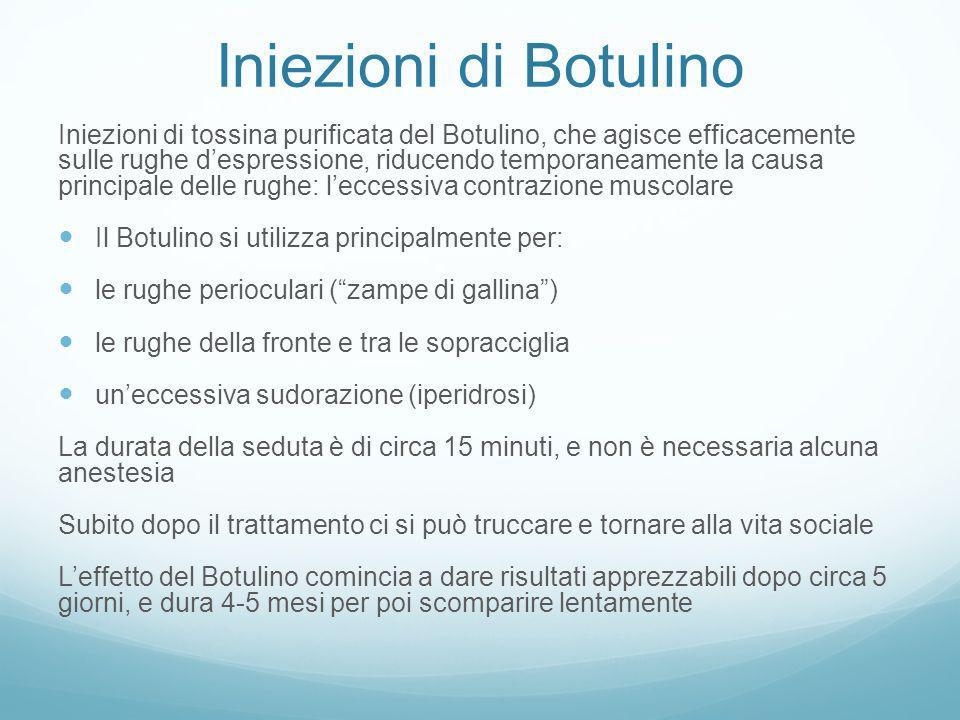 Iniezioni di Botulino