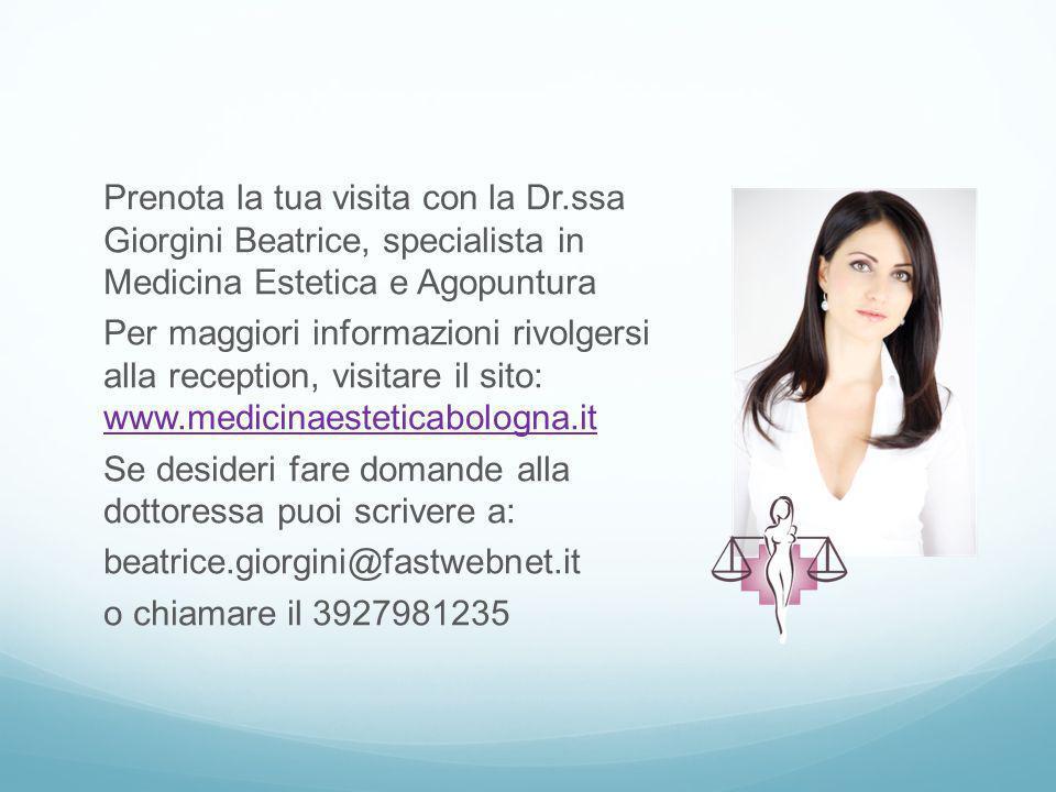 Prenota la tua visita con la Dr
