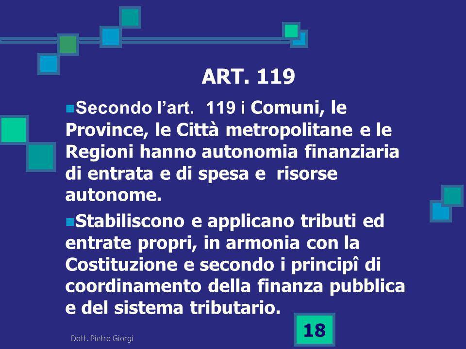 ART. 119
