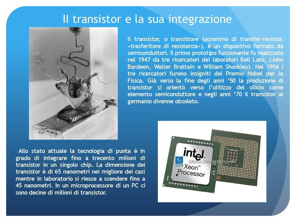 II transistor e la sua integrazione