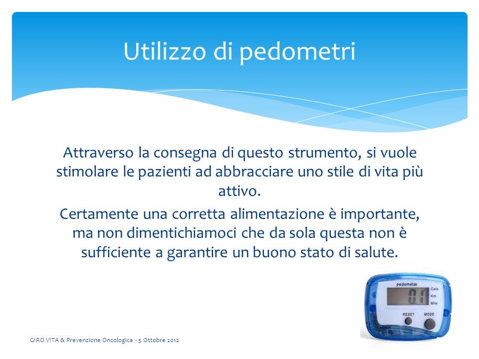 GIRO VITA & Prevenzione Oncologica - 5 Ottobre 2012