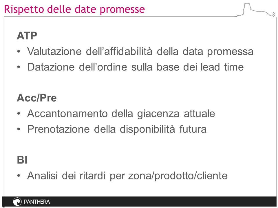 Rispetto delle date promesse