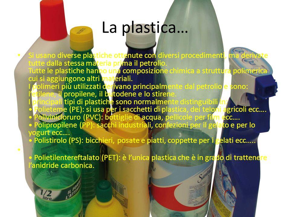 La plastica…